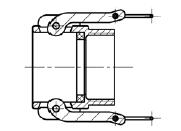 Муфта БМ32 (тип D) МРВД с БРС с наконечником под приварку, с внутренней резьбой, с наружной резьбой, с заглушкой