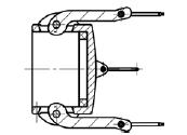 Муфта БМ34 (тип DC) МРВД с БРС с наконечником под приварку, с внутренней резьбой, с наружной резьбой, с заглушкой