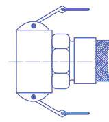 Быстроразъемные соединения эксцентрикового типа Cam Lock 2, чертеж
