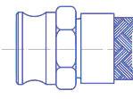 Быстроразъемные соединения эксцентрикового типа Cam Lock, чертеж