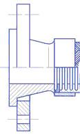 Фланец свободный ГОСТ 12822-80, 12820-80 на приварной воротниковой втулке для металлорукавов