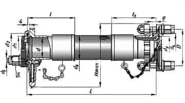 """Металлорукав РМ056 фланцевое соединение с откидными болтами, """"Синергия"""""""